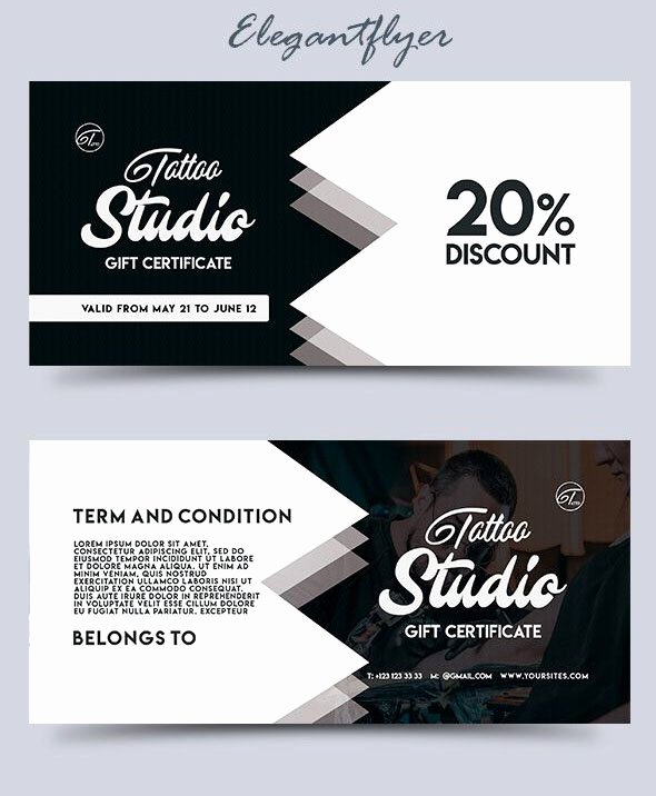 Gift Card Template Psd Unique 51 Premium & Free Psd Professional Gift Certificates