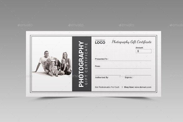 Gift Certificate Template Psd Luxury 12 Graphy Gift Certificate Templates – Free Sample