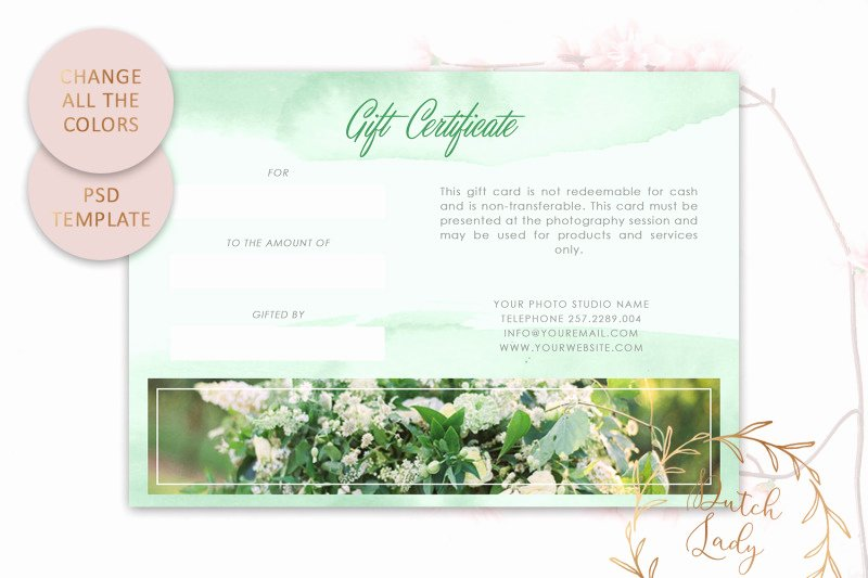Gift Certificate Template Psd Luxury Psd Gift Certificate Card Template 5 by the Dutch
