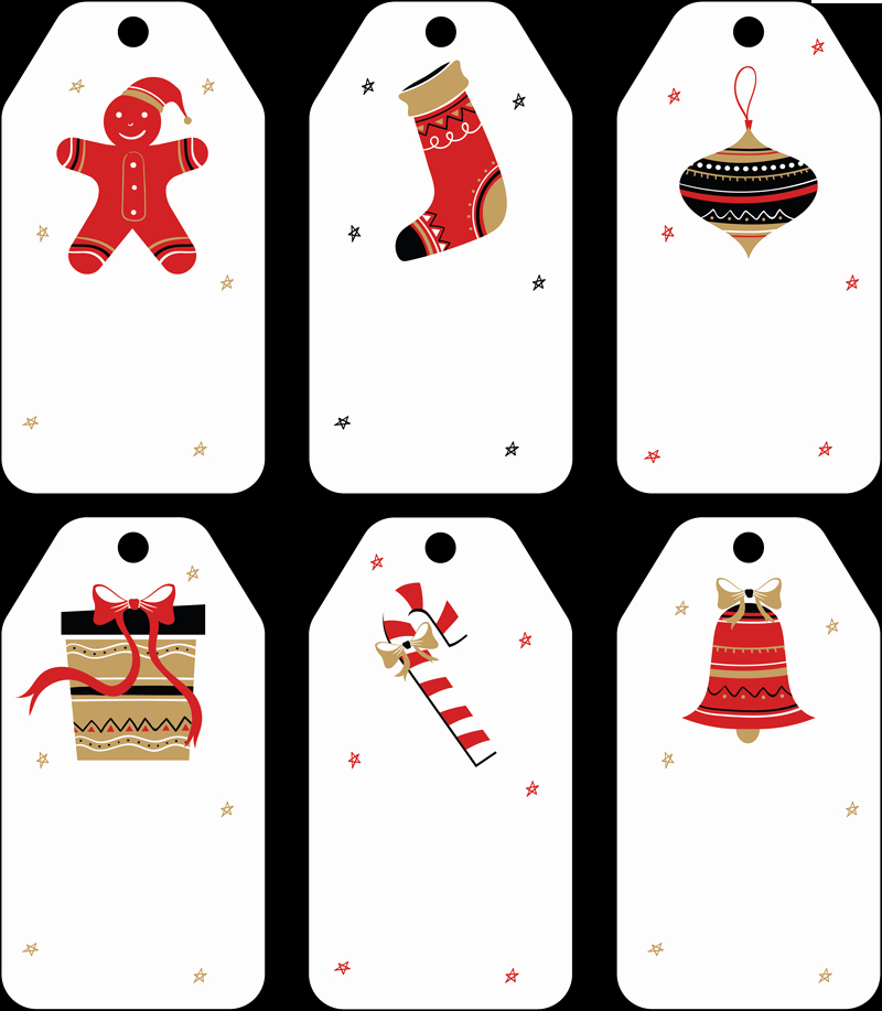 Gift Tag Template Free Best Of Free Christmas Gift Tag Templates Editable & Printable