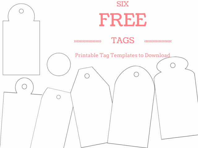 Gift Tag Template Free Lovely Free and Whimsical Printable Gift Tag Templates