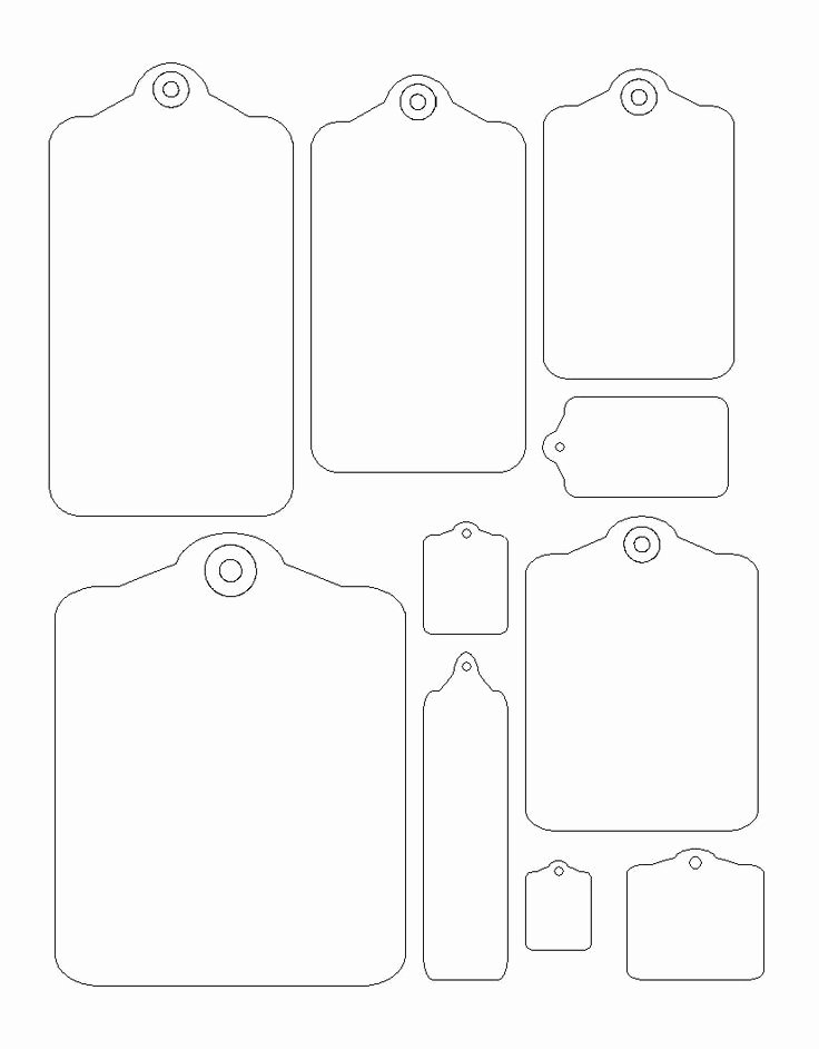 Gift Tag Template Free New 1000 Ideas About Tag Templates On Pinterest