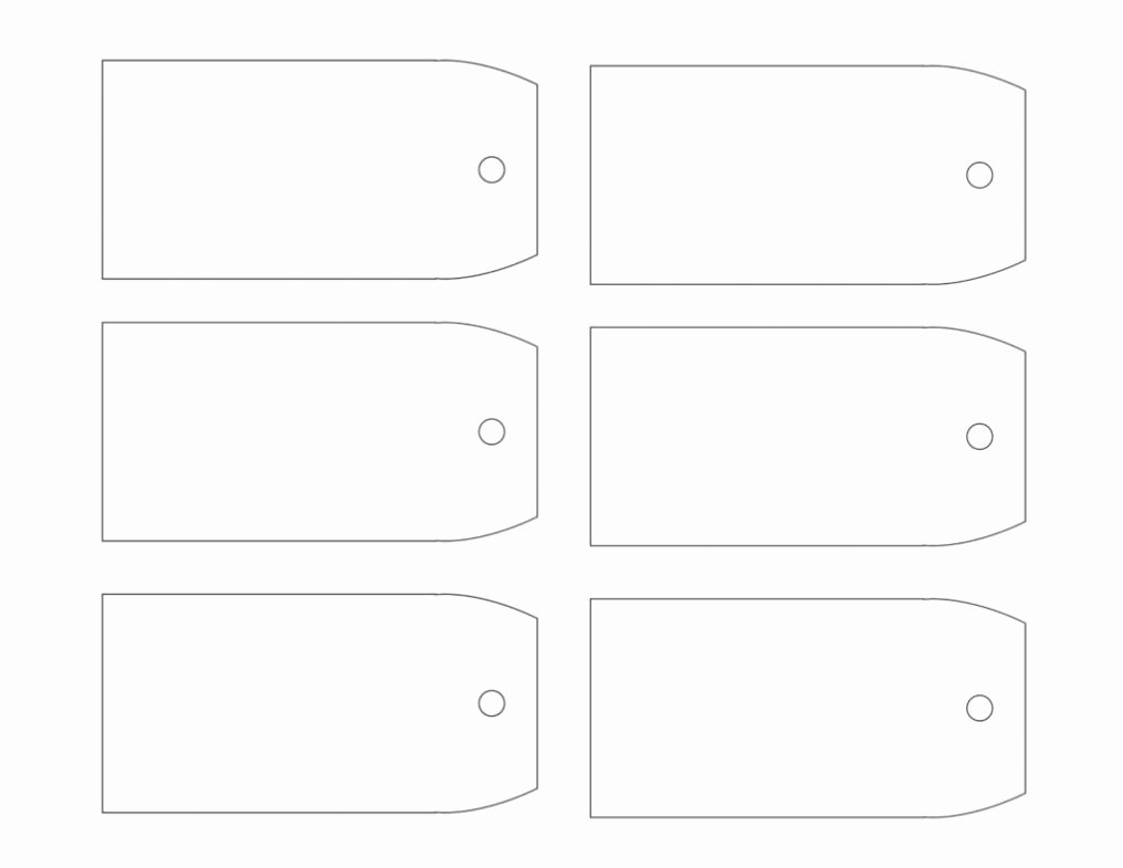 Gift Tag Template Free Unique Free Printable Gift Tags Templates