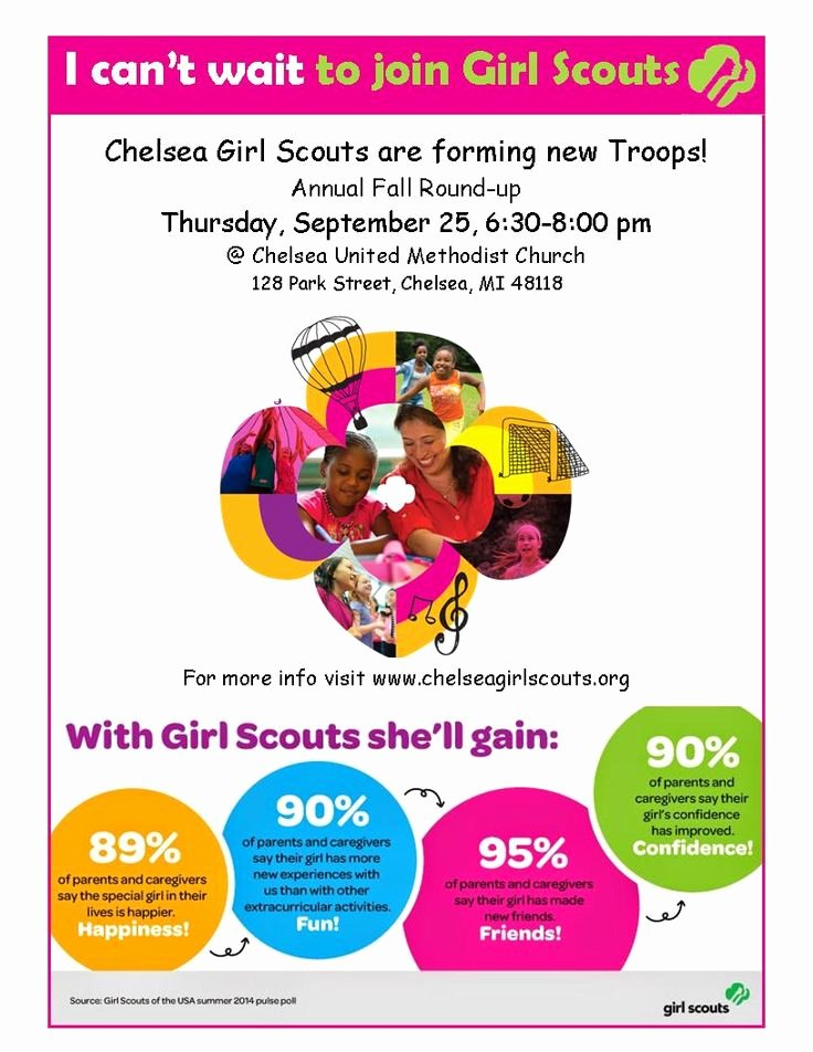 Girl Scout Flyer Template Beautiful 34 Best Images About Gs Recruiting On Pinterest