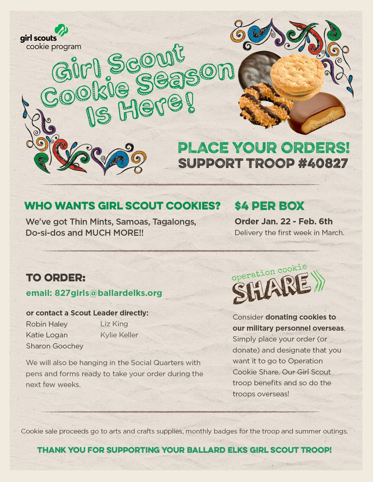 Girl Scout Flyer Template Beautiful Girl Scout Flyer Template to Pin On Pinterest