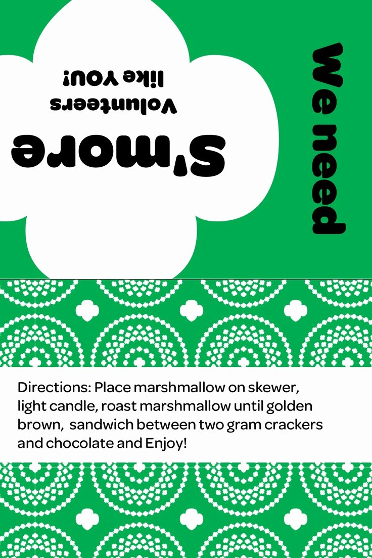 Girl Scout Flyer Template Fresh 194 Best Images About Girl Scouts Printables On