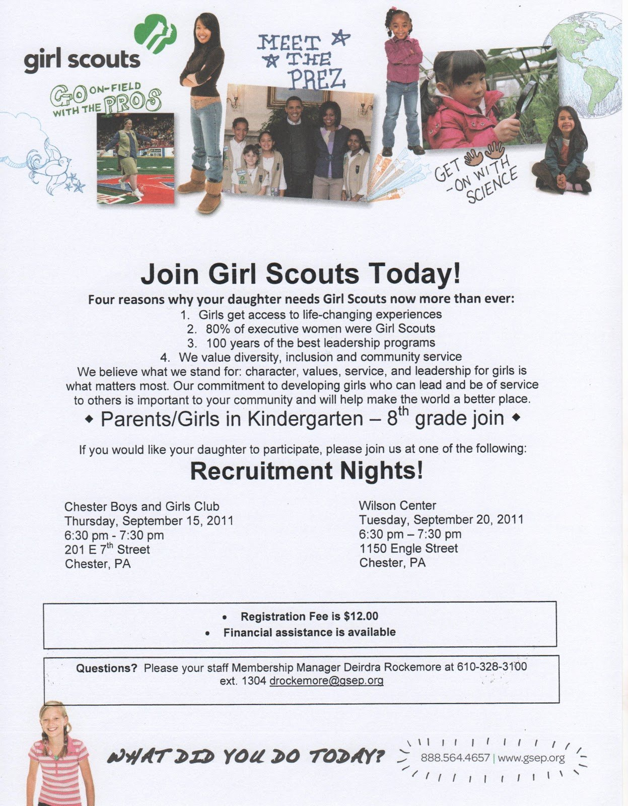 Girl Scout Flyer Template Luxury Ms B the Good News Girl Scouts Recruitment Nights