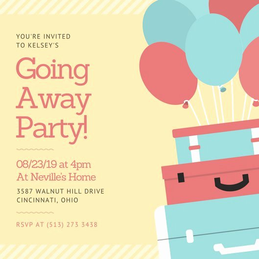 Going Away Card Template Best Of Going Away Card Template to Pin On Pinterest