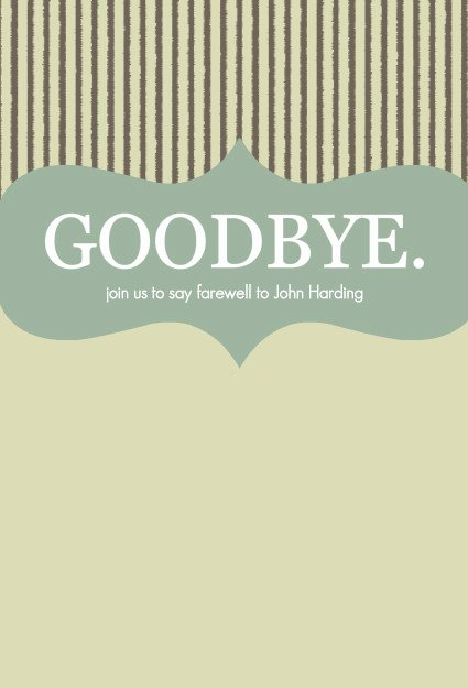 Going Away Card Template Inspirational 8 Best Of Printable Goodbye Card Template Free