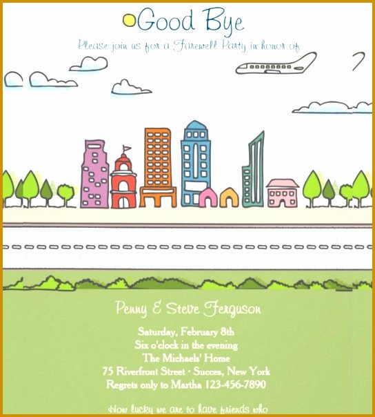 Going Away Invitation Template Awesome 6 Farewell Flyers Samples