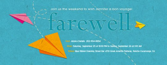 Going Away Invitation Template Awesome Free Retirement and Farewell Party Invitations