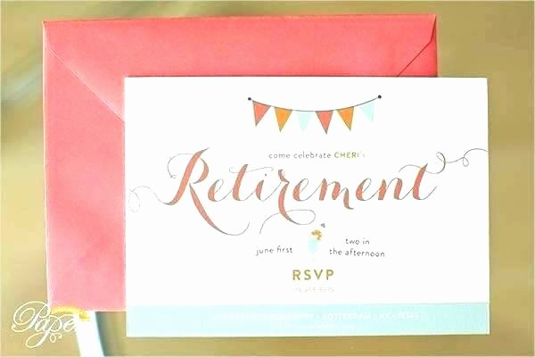 Going Away Invitation Template Best Of Retirement Farewell Invitation Templates New Free Flyer