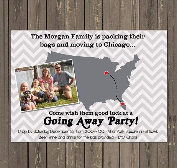 Going Away Invitation Template Inspirational 13 Farewell Party Invitation Templates
