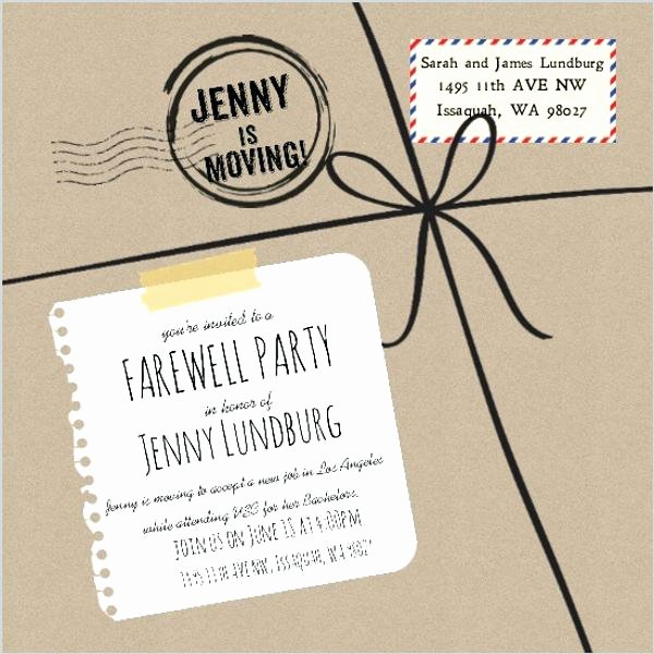 Going Away Invitation Template Inspirational Farewell Invites – orgul Gbt