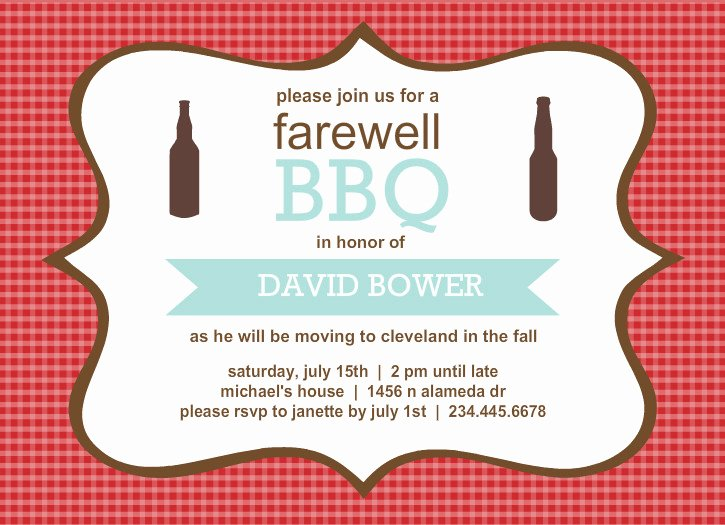 Going Away Invitation Template Luxury Going Away Invitations Template