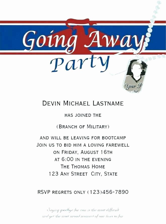 Going Away Invitation Template New Magnificent Going Away Party Invitations Farewell