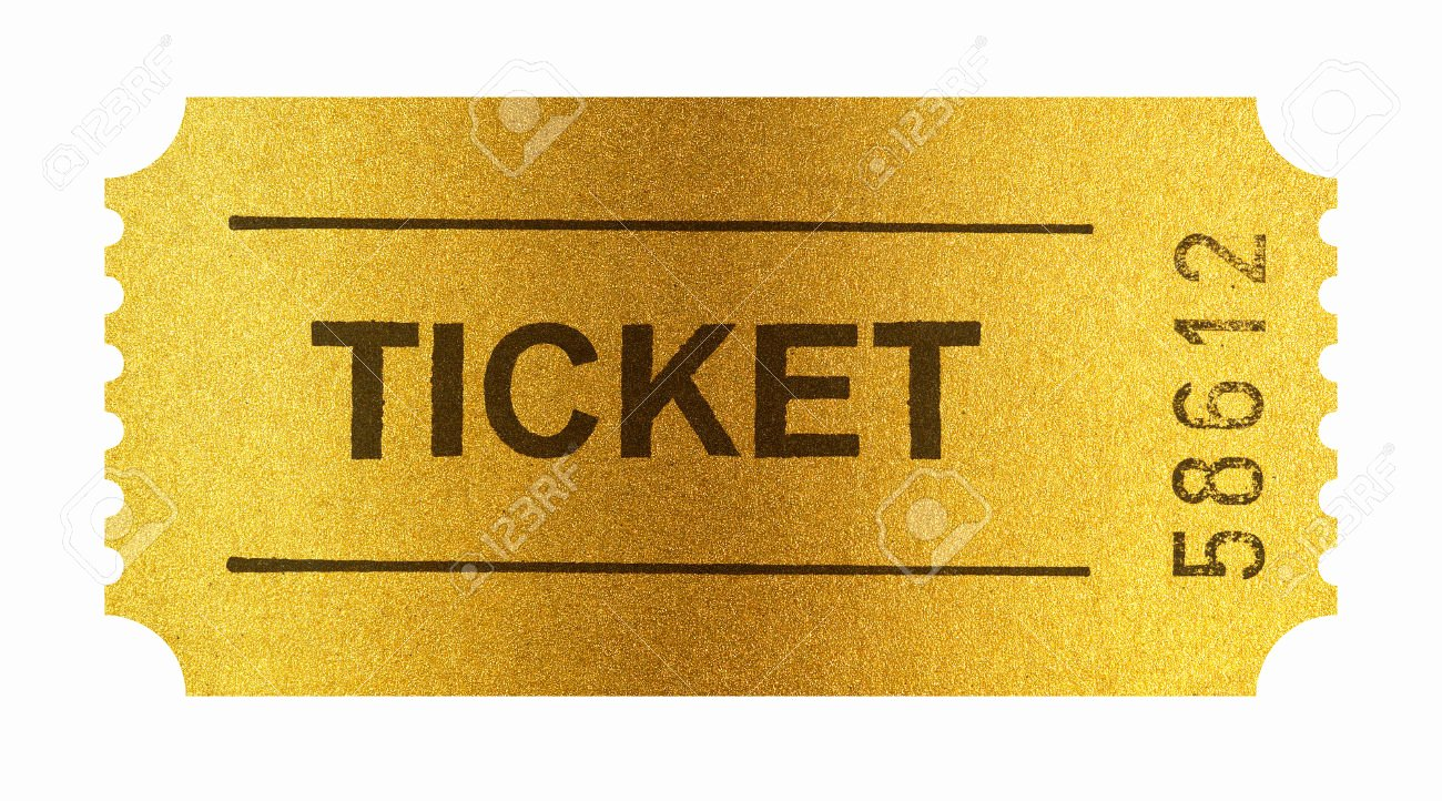 Golden Ticket Template Editable Unique Template Golden Ticket Template