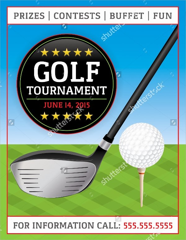 Golf Flyer Template Free Beautiful Golf tournament Flyer Template 20 Download In Vector