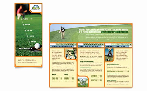Golf Flyer Template Free Beautiful Golf tournament Flyer Template Word & Publisher