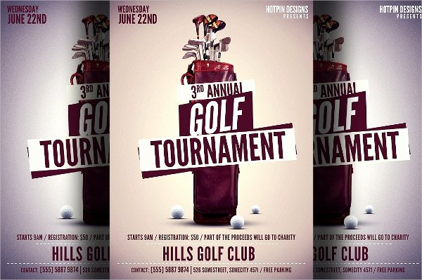 Golf Flyer Template Free Best Of 25 Golf Flyers Templates Word Psd Ai Eps Vector