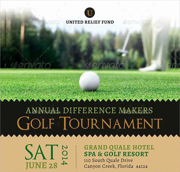 Golf Flyer Template Free Inspirational 21 Golf tournament Flyer Templates