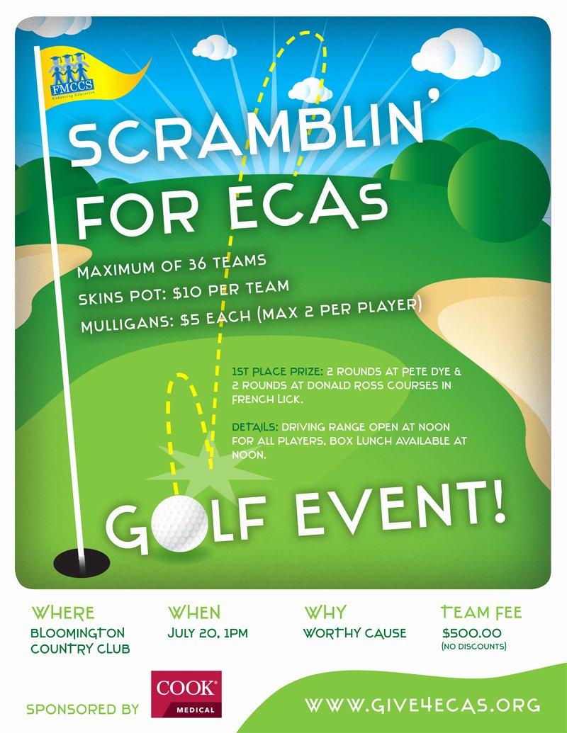Golf Flyer Template Free New Creative Golf tournament Ideas