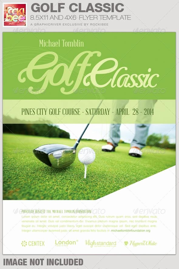 Golf Flyer Template Free New Golf Classic event Flyer Template