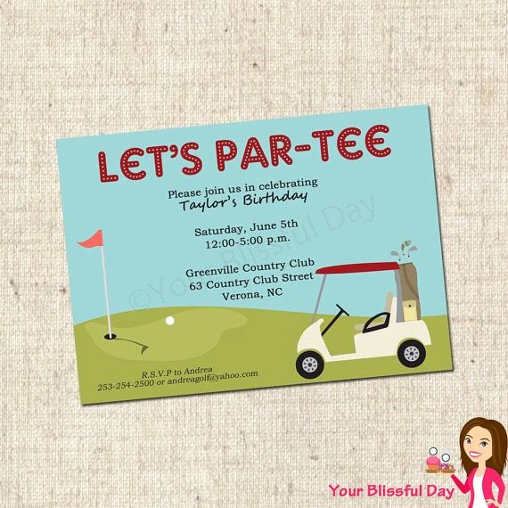 Golf Invitation Template Free Awesome 12 Best Outing Invitations Images On Pinterest