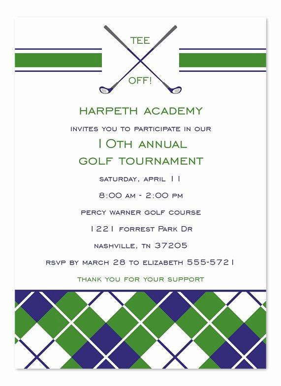 Golf Invitation Template Free Best Of Golf tournament Invitation Templates