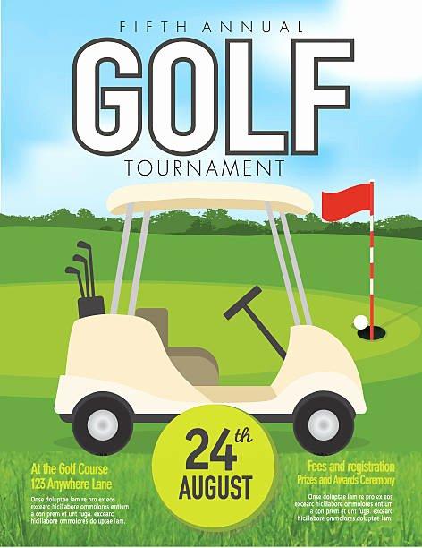 Golf Invitation Template Free Elegant Royalty Free Golf Cart Clip Art Vector