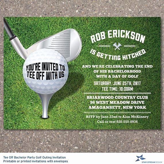 Golf Invitation Template Free Fresh 15 Best Images About topgolf Invite On Pinterest