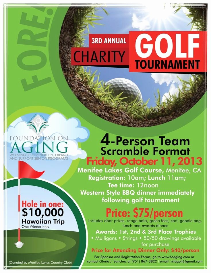 Golf Outing Flyer Template Fresh 9 Best Golf tournament Poster Ideas Images On Pinterest