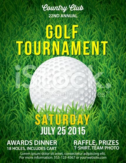 Golf Outing Flyer Template Inspirational 10 Best Awesome Golf tournament Flyer Design Images On