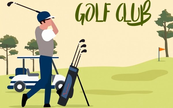 Golf Tee Game Template Awesome Golf Free Vector 195 Free Vector for Mercial
