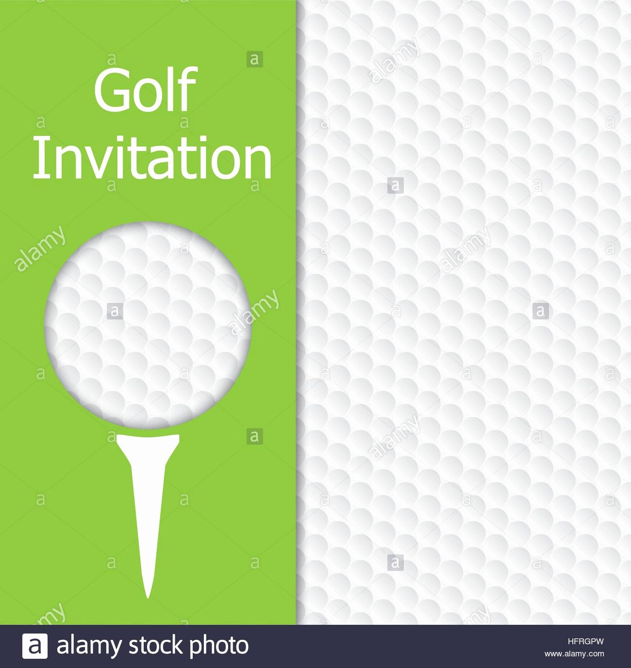 Golf Tee Game Template Luxury Golf tournament Invitation Graphic Design the Design