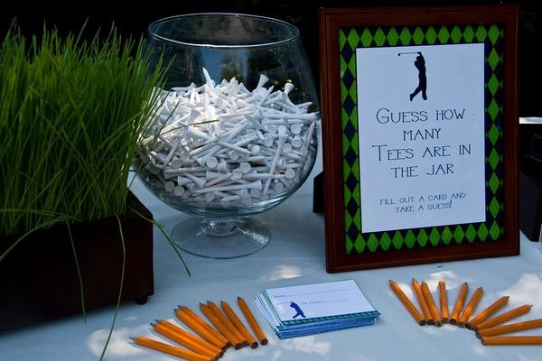Golf Tee Game Template Unique Guess How Many Golf Tees Golf Pinterest