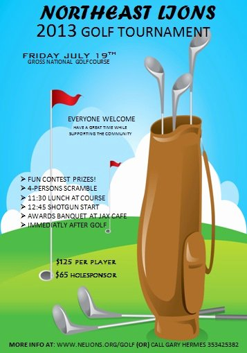 Golf tournament Brochure Template New 15 Free Golf tournament Flyer Templates Fundraiser