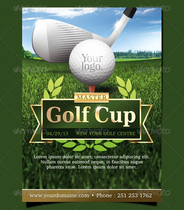 Golf tournament Flyer Template Lovely 45 event Flyer Templates Psd Ai Word Eps Vector