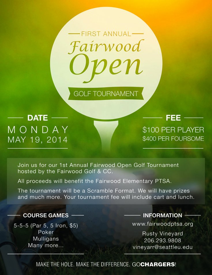Golf tournament Flyers Template Luxury 13 Best Images About Golf tournament Ideas On Pinterest