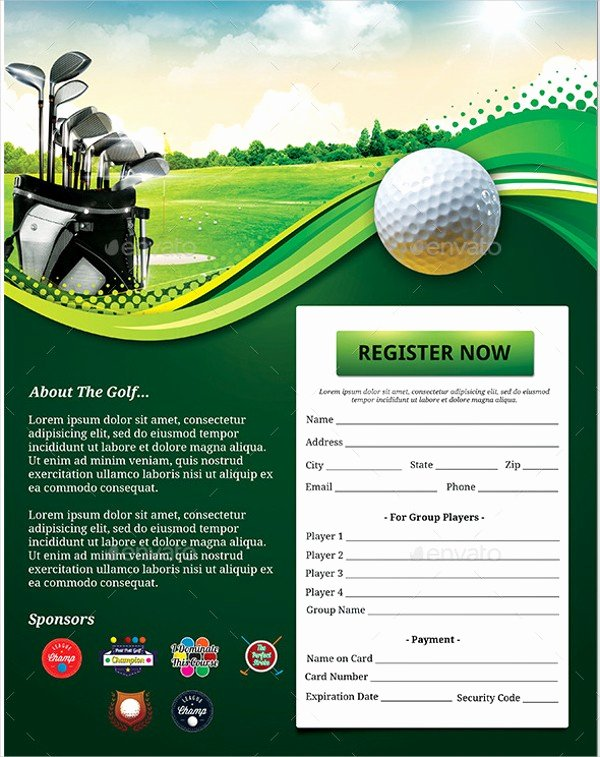 Golf tournament Flyers Template New Gallery Free Golf Templates for Word Gallery Pinkturbanfo