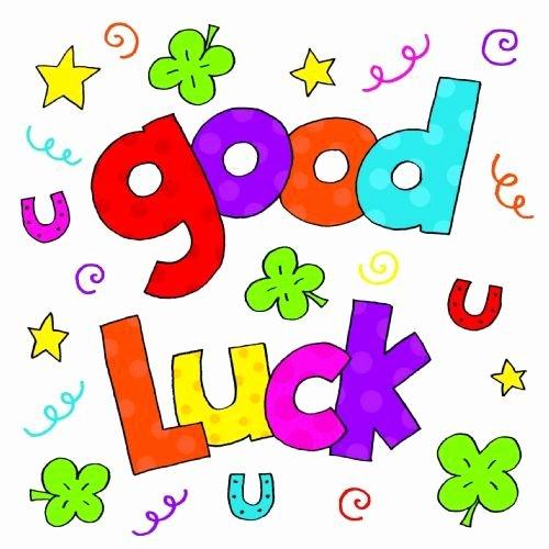 Good Luck Card Template Fresh Good Luck Cards Templates Free Clipart Best