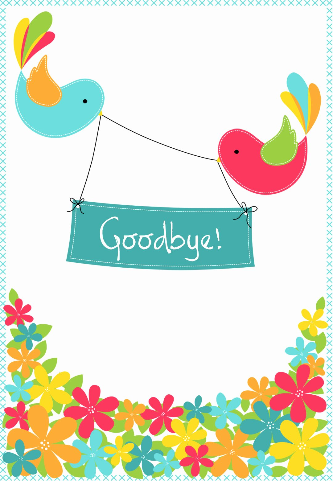 Good Luck Card Template Luxury Goodbye From Your Colleagues Good Luck Card Free
