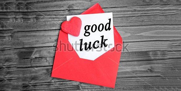 Good Luck Card Template Unique 18 Good Luck Card Templates Psd Ai Eps