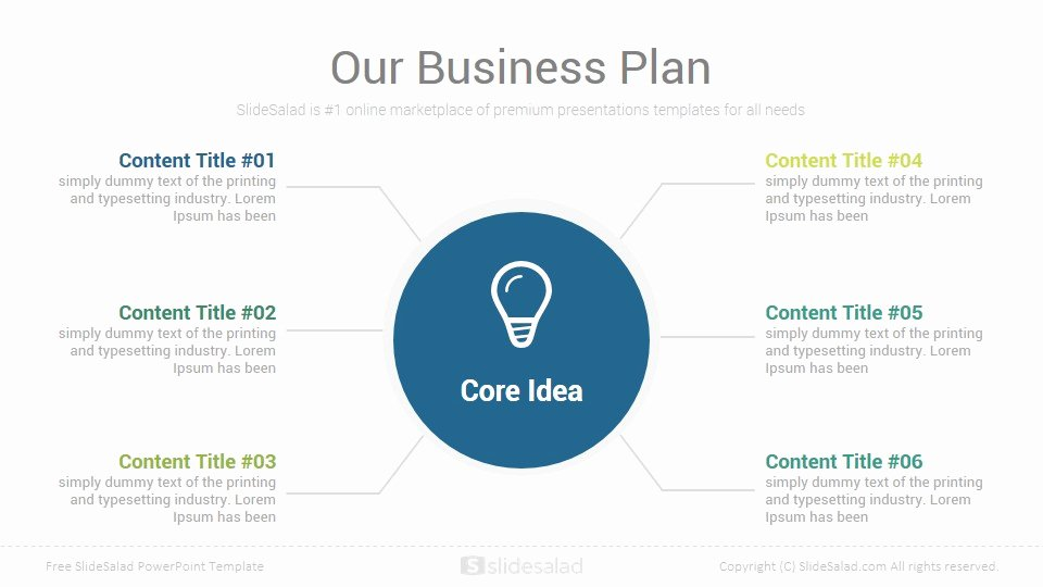 Google Business Plan Template Best Of Business Plan Free Powerpoint Presentation Template