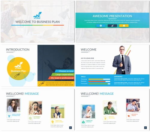Google Business Plan Template Lovely 40 Free Google Slide Presentation Templates