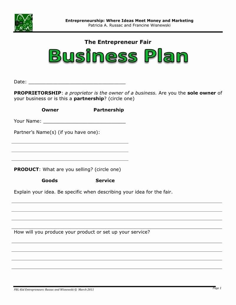 Google Business Plan Template Unique Easy Business Plan Template Beepmunk