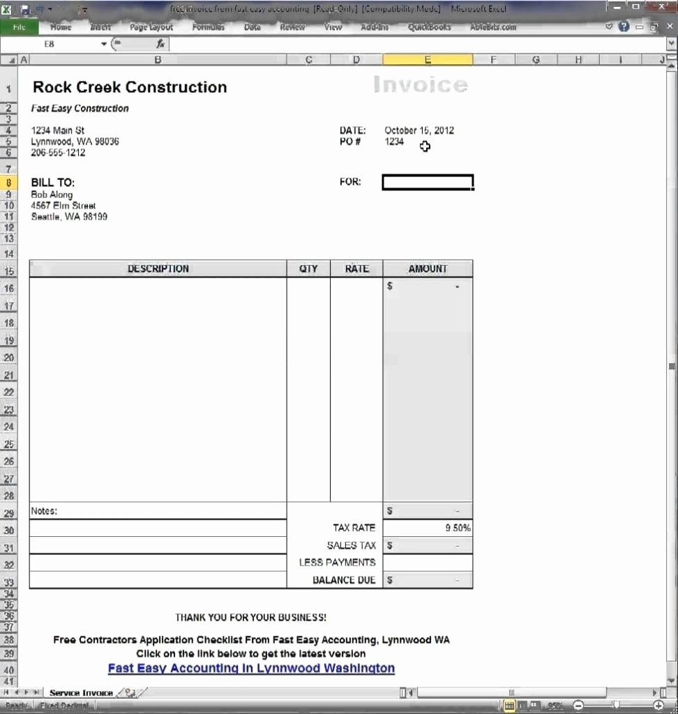 Google Doc Invoice Template New Google Doc Template Invoice Invoice Template Ideas