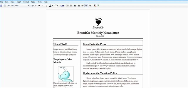Google Doc Newsletter Template Awesome How to Create A Newsletter with Google Docs