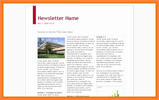 Google Doc Newsletter Template Beautiful Google Docs Newsletter Template 8 Templates