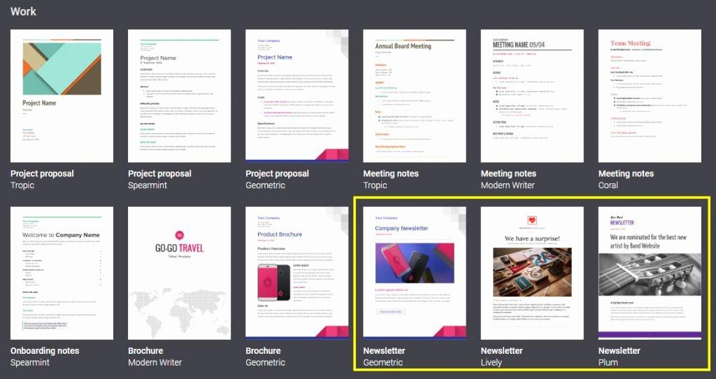 Google Doc Newsletter Template Unique Create Newsletter Template with Google Docs Online I Lineco